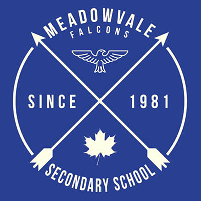 School Spirit Wear 4U - featured design logo - Meadowvale Secondary School