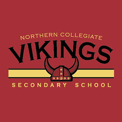 School Spirit Wear 4U - featured design logo - Northern Collegiate Vikings - school label